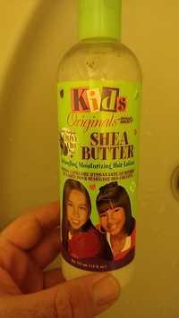 Africa's Best - Kids originals - Lotion capillaire hydratante au beurre de karité pour démêlage des cheveux
