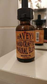 Davey's Original - Hand craftes original blend - Beard oil