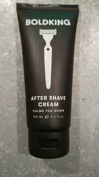BOLDKING - After shave cream