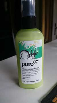 Pure 97 - Jasmin & kokosnussöl - Feuchtigkeitsspendendes creme öl