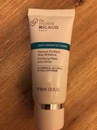 Dr Pierre Ricaud - Anti-imperfections - Masque purifiant