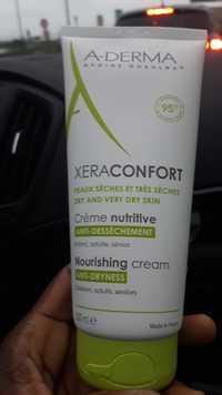 A-Derma - XeraConfort - Crème nutritive anti-dessèchement