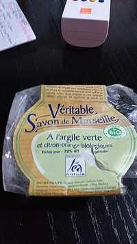 Léa Nature - Véritable savon de Marseille à l'argile verte bio