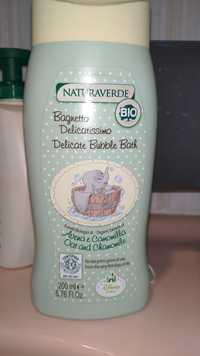 NATURAVERDE - Delicate bubble bath bio
