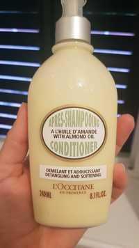 L'OCCITANE - Après-shampooing à l'huile d'amande