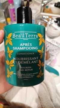 BEAUTERRA - Après-shampooing nourrissant et démêlant