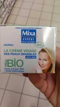 Mixa - Expert peau sensible - La crème visage bio