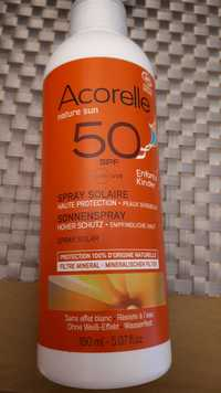 Acorelle - Nature sun - Spray solaire SPF 50
