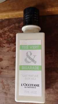 L'OCCITANE - Thé vert & bigarade - Lait parfumé