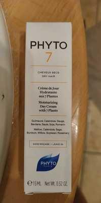 Phyto - Phyto 7 - Crème du jour hydratante aux 7 plantes