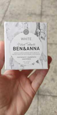 Ben & Anna - White - Dentifrice