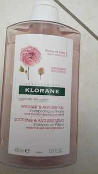 Klorane - Shampooing à la pivoine apaisant et anti-irritant