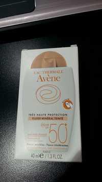 Avène - Fluide minéral teinté très haute protection SPF 50+