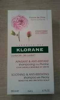 KLORANE - Shampooing à la pivoine
