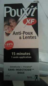 Pouxit - Anti-poux & lentes
