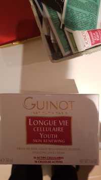 Guinot - Longue vie cellulaire - Crème de soin visage