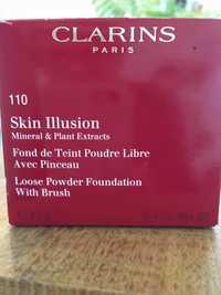 CLARINS - Skin illusion  - Fond de teint poudre libre 110