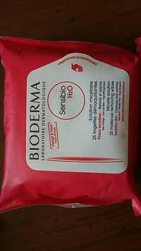 BIODERMA - Sensibio -  25 lingettes démaquillantes