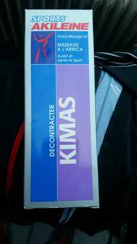 AKILÉINE - Sport kimas - Massage à l'arnica