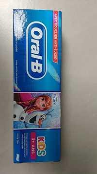 ORAL-B - Kids 3+ ans - Dentifrice avec bouclier anti-sucre