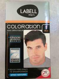 LABELL - Men - Coloration sans ammoniaque 1 noir