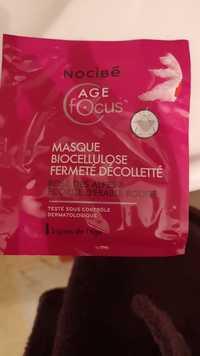 NOCIBÉ - Age focus - Masque biocellulose fermeté décolletté