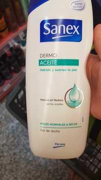 SANEX - Dermo aceite hidrata y suaviza la piel - Gel de ducha