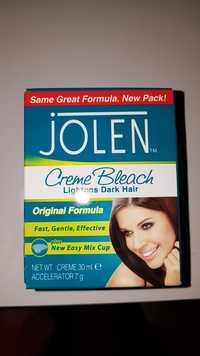 JOLEN - Creme bleach lightens dark hair