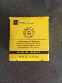 Dr Botanicals - Crème hydratante nutrition de nuit