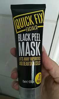 QUICK FIX -  Black peel mask - X7 facials