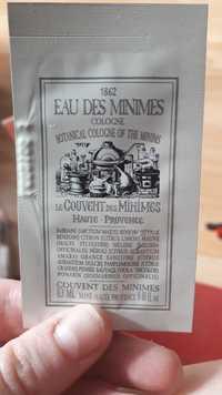 Le Couvent des Minimes - Eau des minimes - Cologne