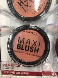 RIMMEL - Maxi blush - Fard à joues poudre