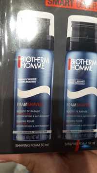 Biotherm - Homme peau sensible - Mousse de rasage