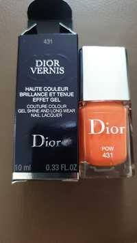 Dior - Vernis haute couleur brillance et effet gel 431