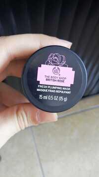 THE BODY SHOP - British rose - Masque frais repulpant