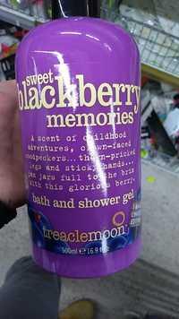 TREACLE MOON - Sweet Blackberry Memories - Bath and shower gel