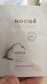 NOCIBÉ - Naturals Detox  - Sérum purifiant