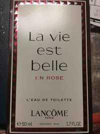 Lancôme - L'eau de toilette en rose - L'eau de toilette