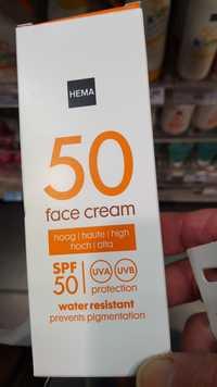 Hema - Face cream - SPF 50