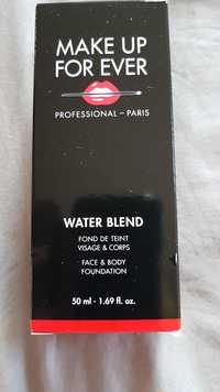 Make up for ever - Water blend - Fond de teint visage & corps