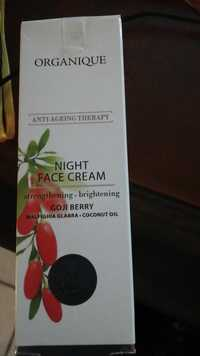 Organique -  Anti-ageing therapy - Night face cream