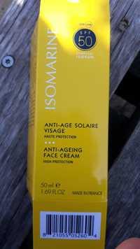 Isomarine - Anti-âge solaire visage SPF 50