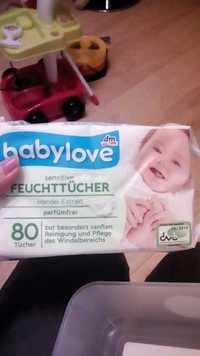 DM - Babylove - Sensitive Feuchttücher