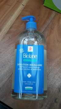 Biolane - Dermo-pédiatrie solution micellaire