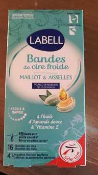 LABELL - Maillot et aisselles - Bandes de cire froide