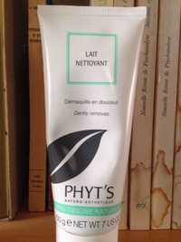 Phyt's - Lait nettoyant - Démaquille en douceur bio