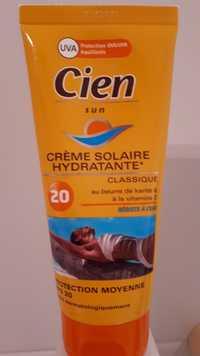 Cien - Sun - Crème solaire hydratante classique fps 20