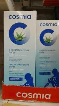 Cosmia - Crème dépilatoire corps à l'aloe vera