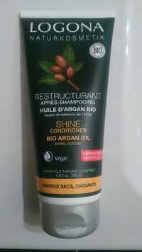 Logona - Restructurant - Après-shampooing huile d'argan bio
