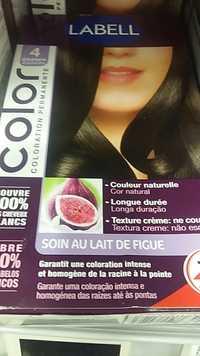 LABELL - Soin au lait de Figue - Coloration permanente 4 Châtain